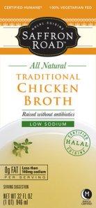 Saffron Road Chicken Broth